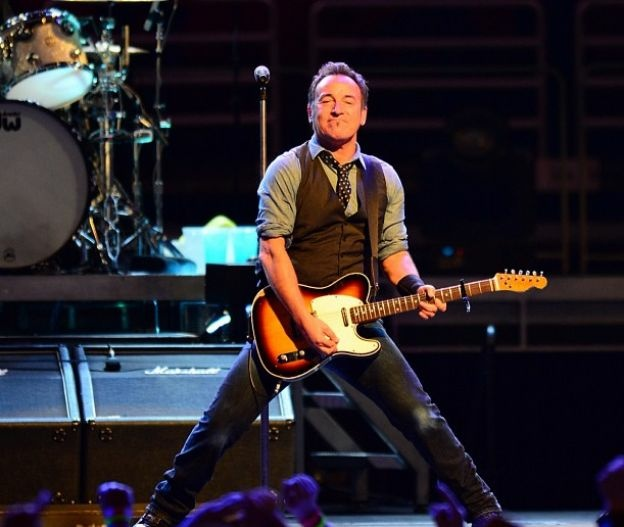 Bruce Springsteen and the E Street Band at the Honda Center in Anaheim, CA on December 4, 2012.