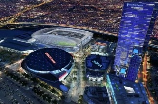 AEG has pitched to build an NFL stadium by the Staples Center in downtown Los Angeles.