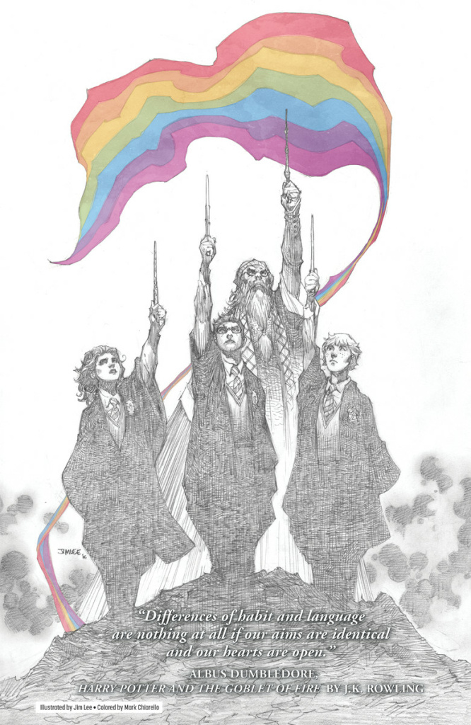 Slideshow: 'Love Is Love' brings Superman and Harry Potter together