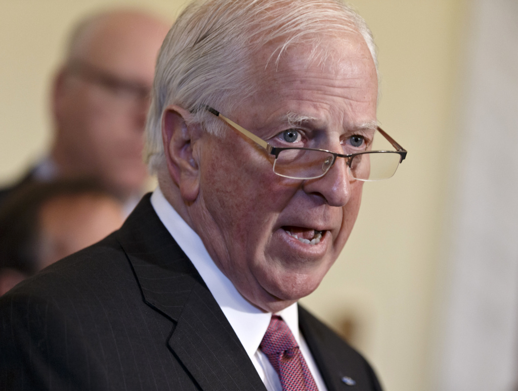 In this file photo, Rep. Mike Thompson, D-Calif., chairman of the Congressional Gun Violence Prevention Task Force, announces a bill designed to allow police to remove guns from the hands of the mentally ill and reduce gun violence while respecting the 2nd Amendment rights of law-abiding Americans, Friday, May 30, 2014, during a news conference on Capitol Hill in Washington. On Monday, Dec. 14, 2015, Thompson hosted a hearing in Sacramento aimed at finding ways to reduce gun violence.