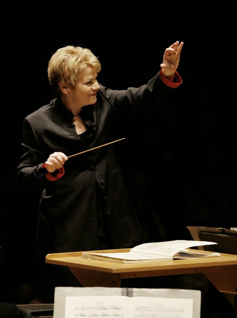 Guest conductor Marin Alsop to lead L.A. Philharmonic this weekend