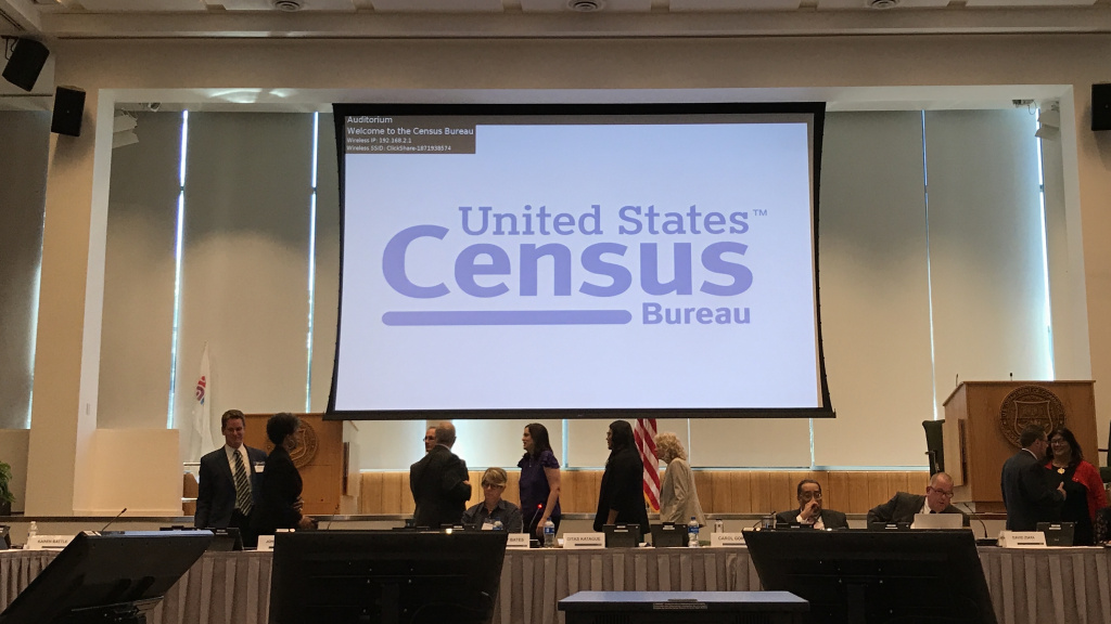 The U.S. Census Bureau holds a public meeting of the National Advisory Committee at the agency's headquarters in Suitland, Md.