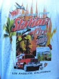 T-Shirt sold at the fire scene.