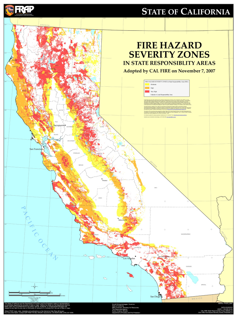 take two® | audio: california's fire hazard severity maps
