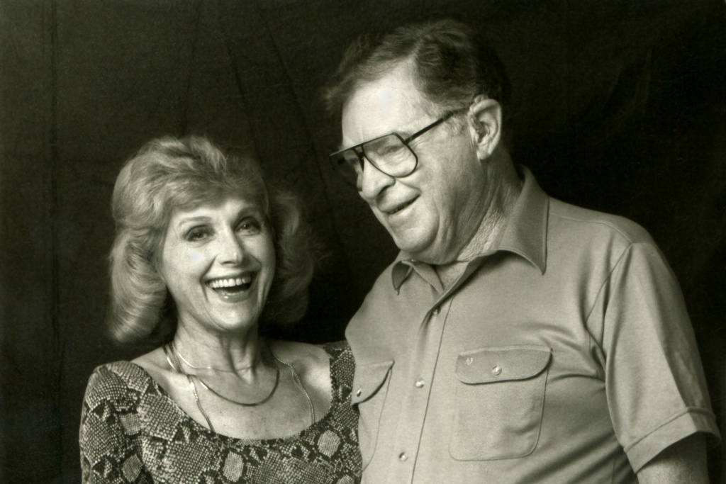 "Lillian and Harold Michelson in New York City in 1984. They're the subjects of Daniel Raim's ""Harold and Lillian: A Hollywood Love Story."""