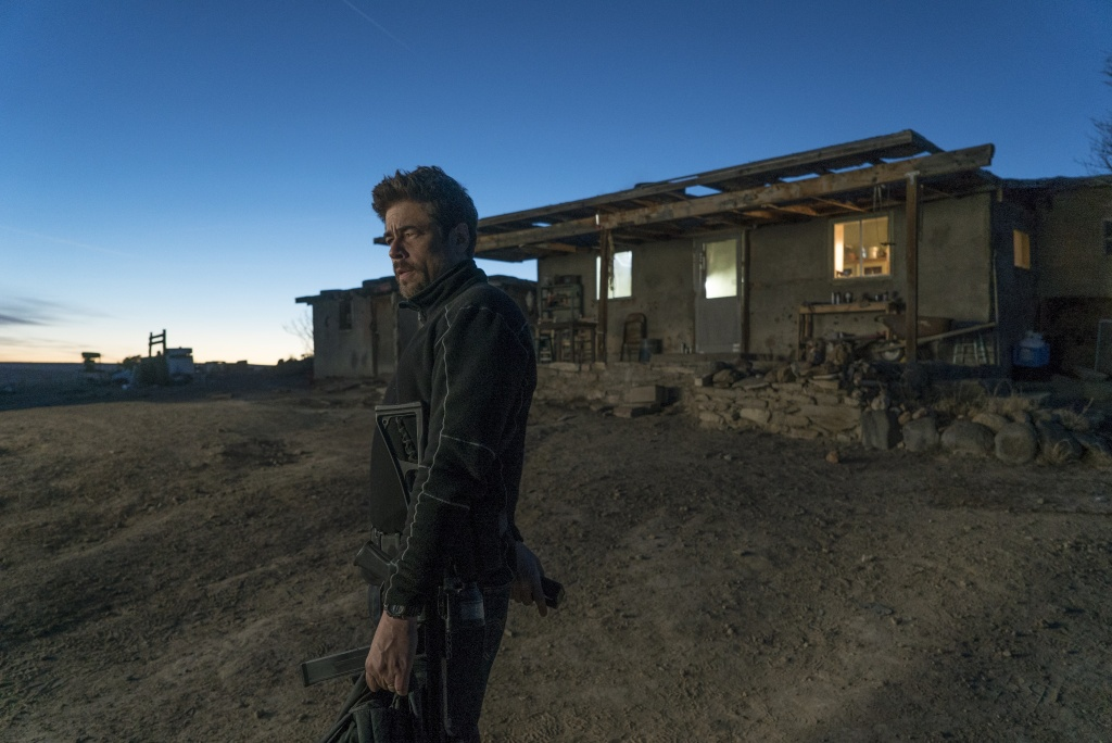 Benicio Del Toro in Columbia Pictures' SICARIO: Day of the Soldado