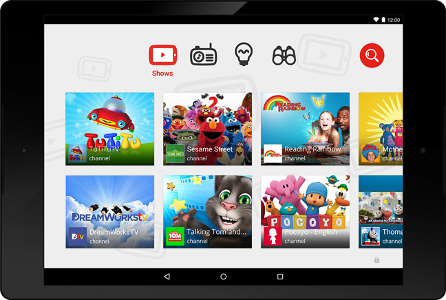 The new app, called YouTube Kids, is due to be released Monday. It will offer original episodes of popular shows such as Sesame Street.
