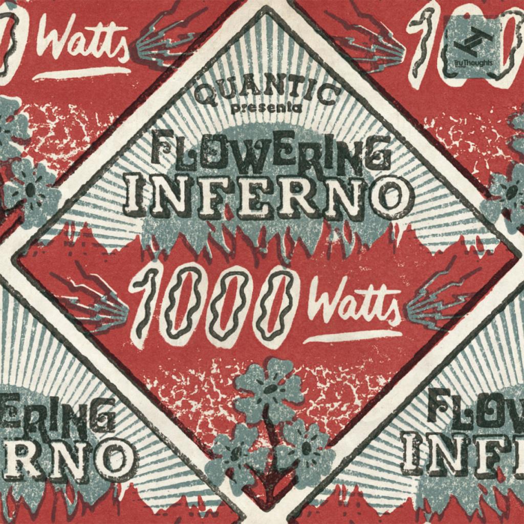 Cover art for Quantic's new album, 1000 Watts