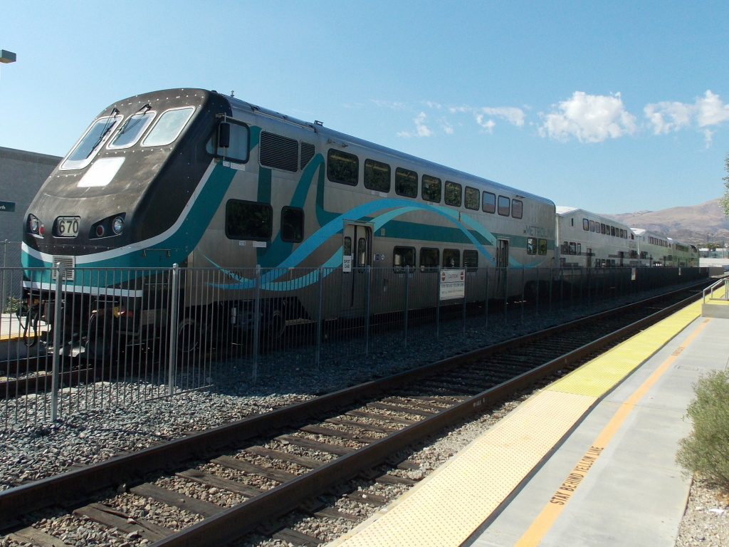 File photo: A Metrolink train.