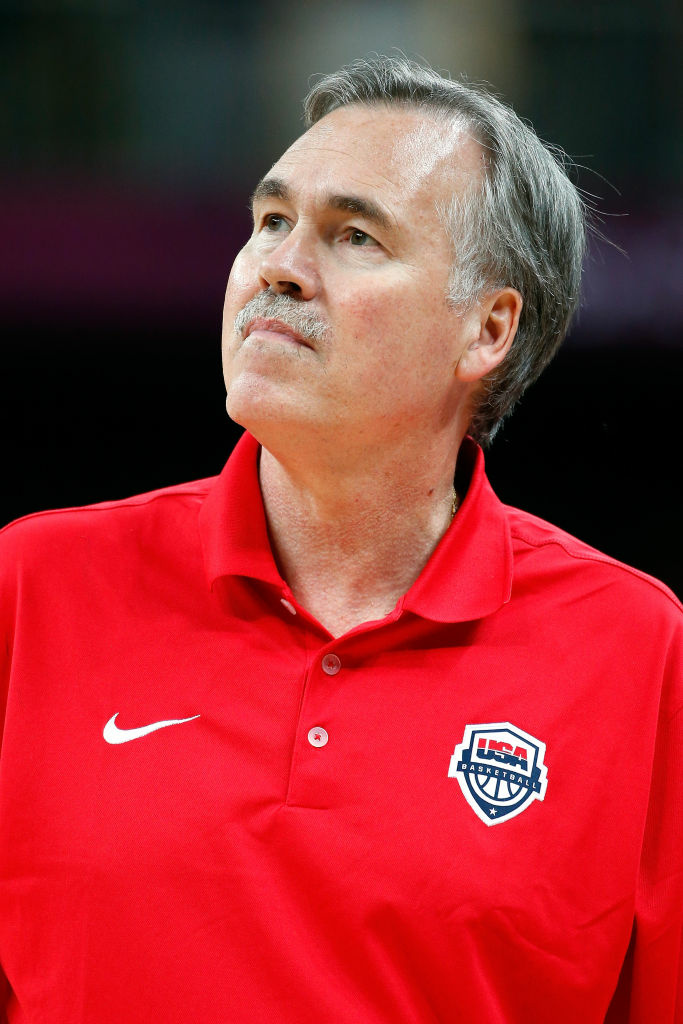 Mike D'Antoni this summer, where he served as an assistant coach for the United States Men's Basketball team during the London 2012 Olympic Games.
