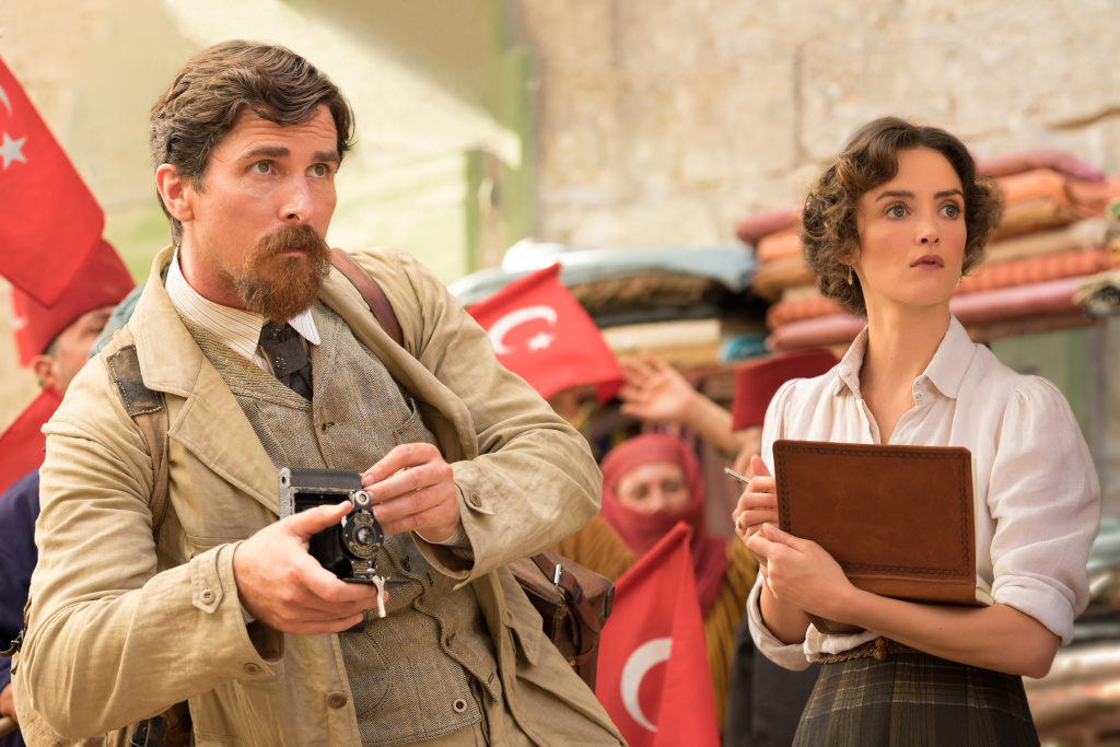 Christian Bale and Charlotte Le Bon star in