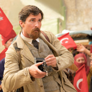 "Christian Bale and Charlotte Le Bon star in ""The Promise."""