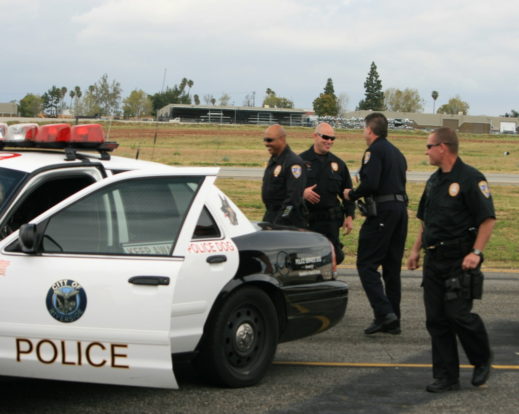 Riverside County police.
