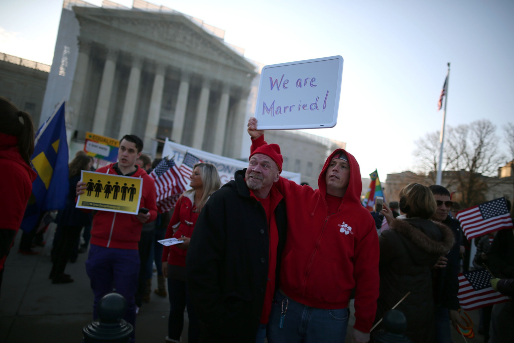 The defense of marriage act violates states rights civil war