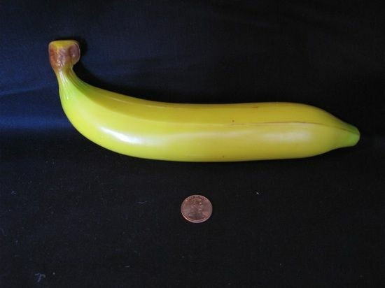 plastic banana from Significant Objects
