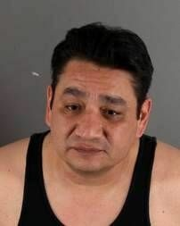 A mug shot of Mike Rios taken after his arrest for attempted murder in February 2012