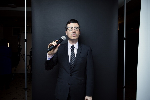 John Oliver, host of 'Last Week Tonight' on HBO, is one of today's comedians tackling weightier social issues.