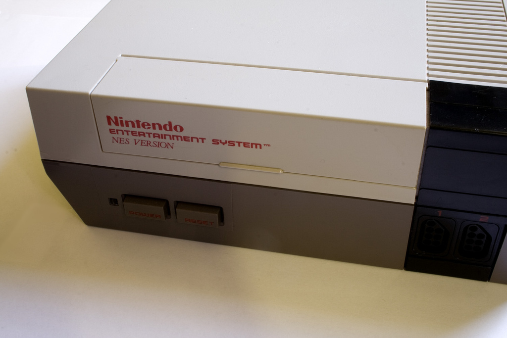 A Nintendo Entertainment System.
