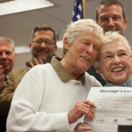Seattle Issues First Same Sex Marriages Licenses After Nov. Election Legalized Gay Marriage