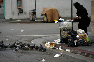 How can we help rehabilitate the homeless of Los Angeles