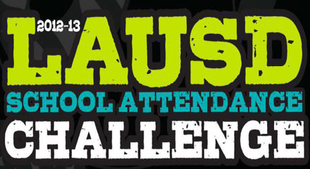 LAUSD's School attendance challenge called