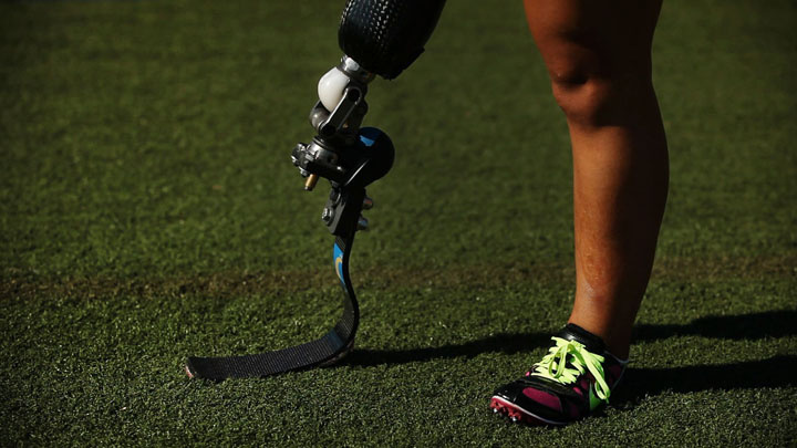 One of the leading prosthetic companies explains the physics behind Olympian Oscar Pistorius' running blades.