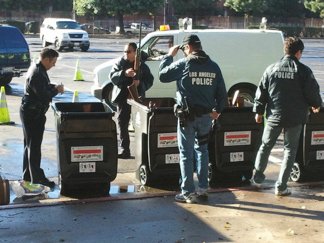 LAPD 2012 Gun Buyback Program