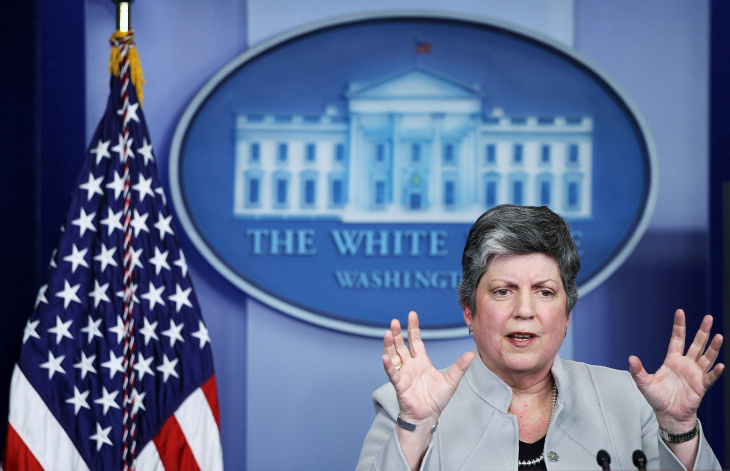 Janet Napolitano Discusses Effects Of Sequester On Homeland Security