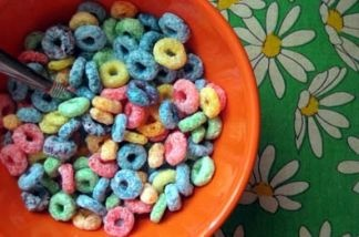 The box liners of Froot Loops and other sweet Kellogg's cereals may make some people sick.