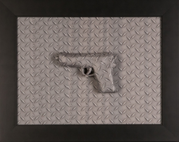 Diamond Plate Pistol