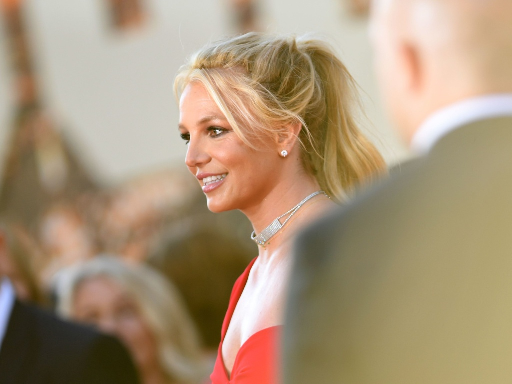 Britney Spears arrives for a movie premier in Hollywood, Calif., on July 22, 2019. On Wednesday, the singer asked a judge to end her conservatorship.