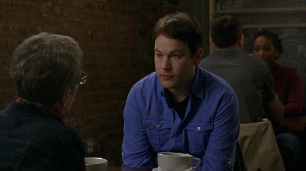 Mike Birbiglia and Terry Gross in a new short film from Birbiglia.
