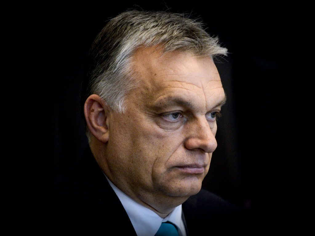 Hungarian Prime Minister Viktor Orban, pictured at a meeting with Polish president on May 14, campaigned on an anti-immigrant platform. On Monday the right-wing party passed legislation banning aid organizations and individuals from helping asylum-seekers.