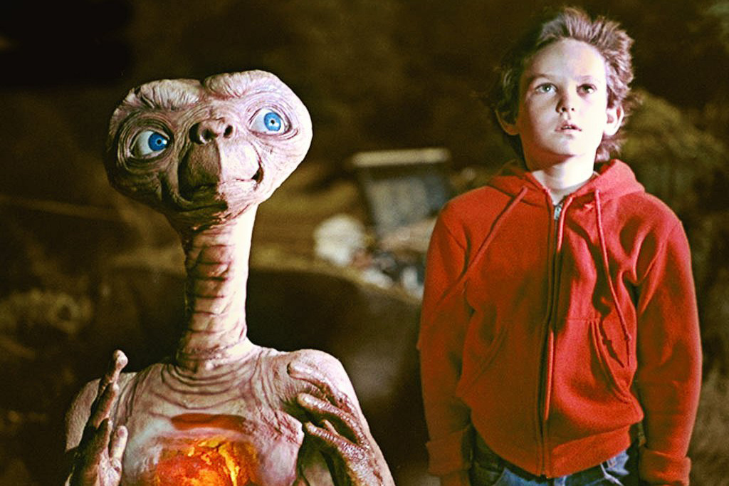 Henry Thomas stars as Elliott in Steven Spielberg's film