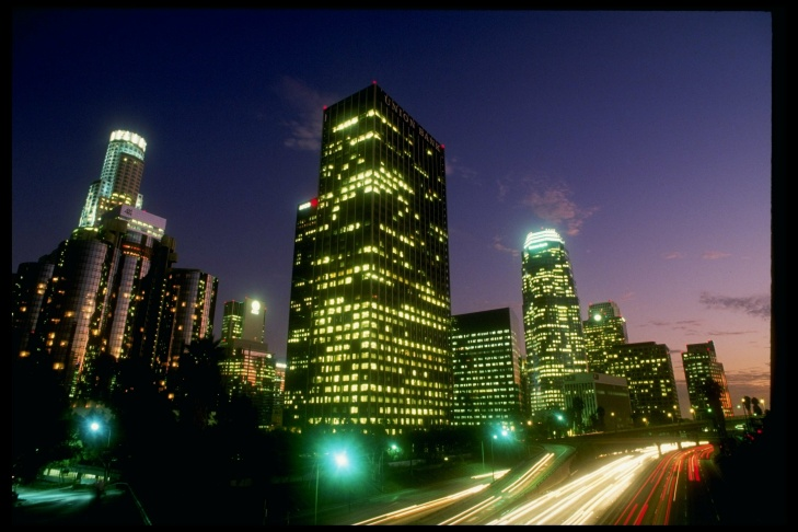 Photo of LA from 1985