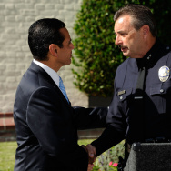 Mayor Antonio Villaraigosa Announces Charlie Beck as New LAPD Chief