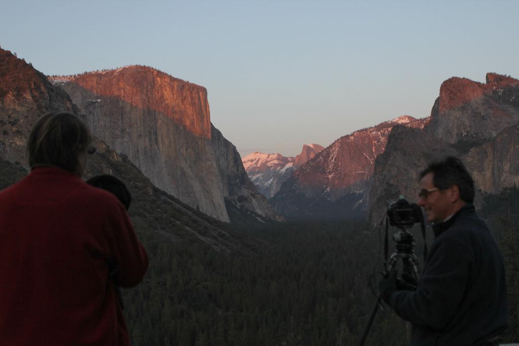 Capturing Yosemite's beauty.