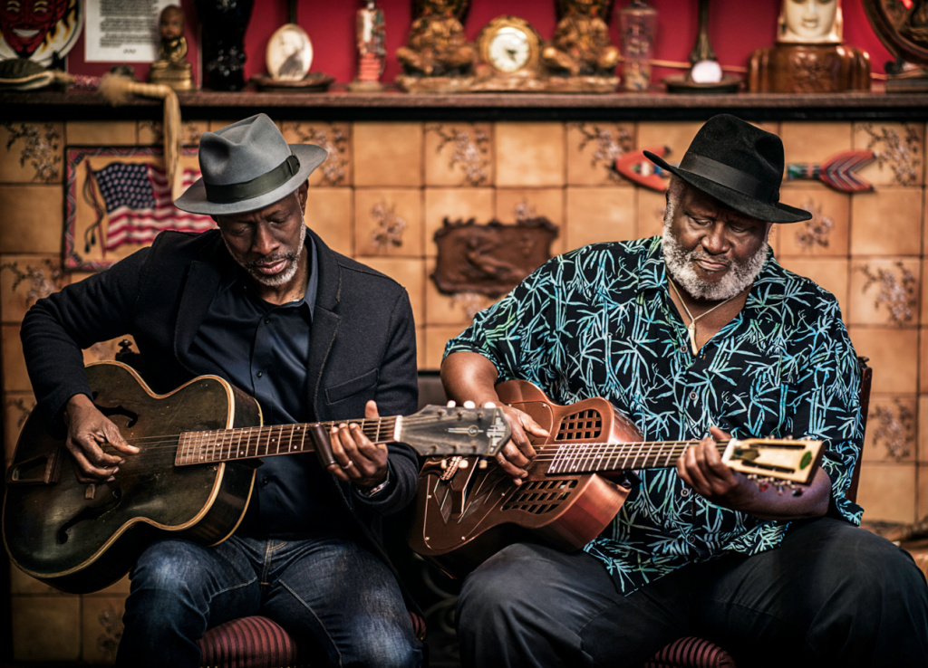 Keb' Mo' (left) and Taj Mahal have released their first ever joint album,