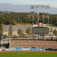 Dodger Stadium Bleachers