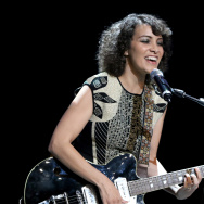 Singer Gaby Moreno performs onstage during The Los Angeles Times and Hoy 2015 Latinos de Hoy Awards at Dolby Theatre on October 11, 2015 in Hollywood, California.