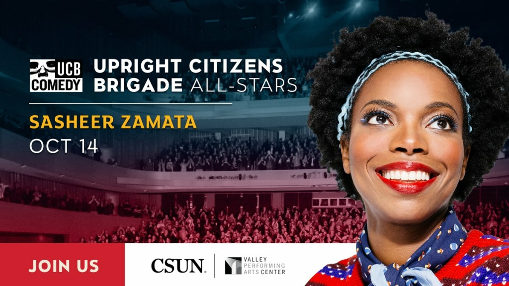 Valley Performing Arts Center - Upright Citizens Brigade All-Stars Featuring Sasheer Zamata and Matt Besser