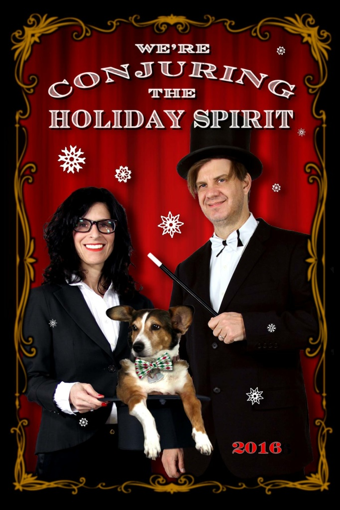 Hilary Hattenbach's 2016 holiday card