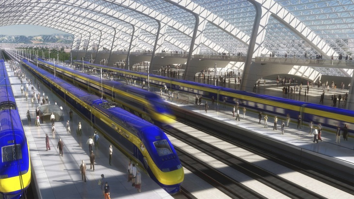 California's high speed rail project promises to speed passengers at 200 miles an hour between Los Angeles and San Francisco by the year 2030.