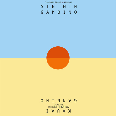 Childish Gambino's new mixtape/EP cover.