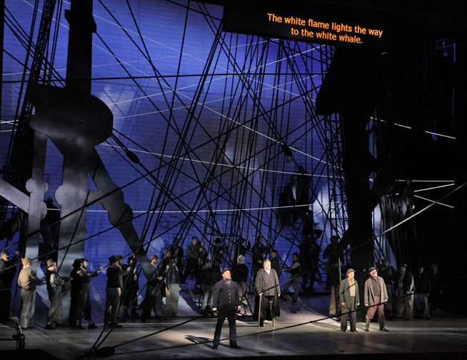 The San Diego Opera in action. The company recently announced that this season will be its last.