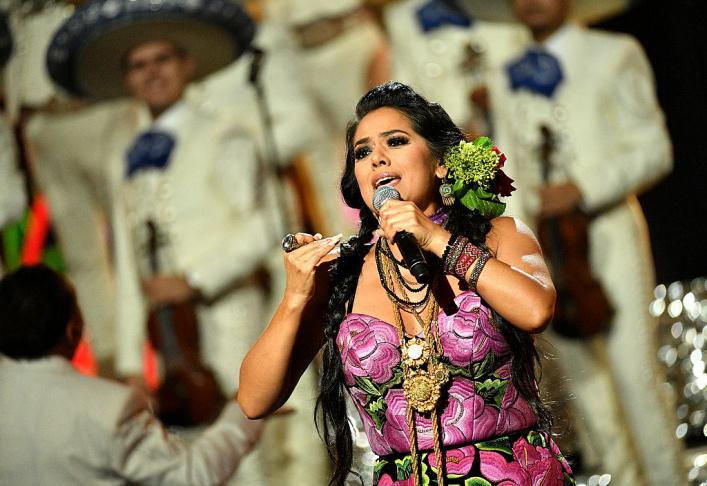 Singer Lila Downs.