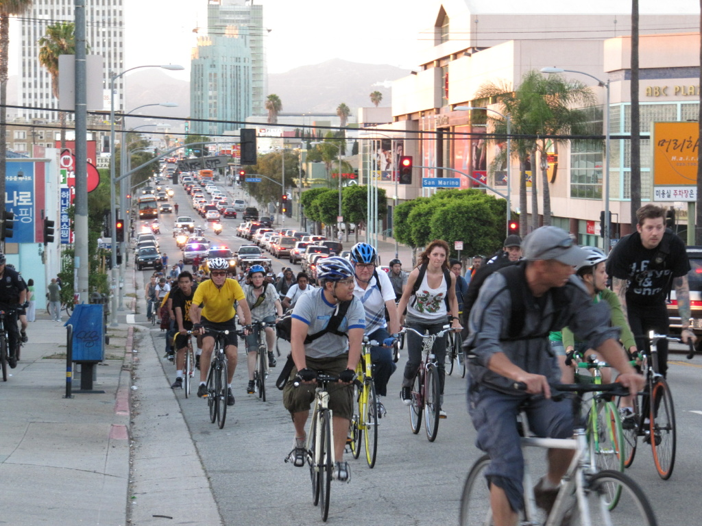 Los Angeles critical mass.