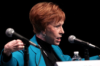 Actress/author Carol Burnett attends the 15th annual Los Angeles Times Festival of Books at UCLA on April 24, 2010 in Los Angeles.