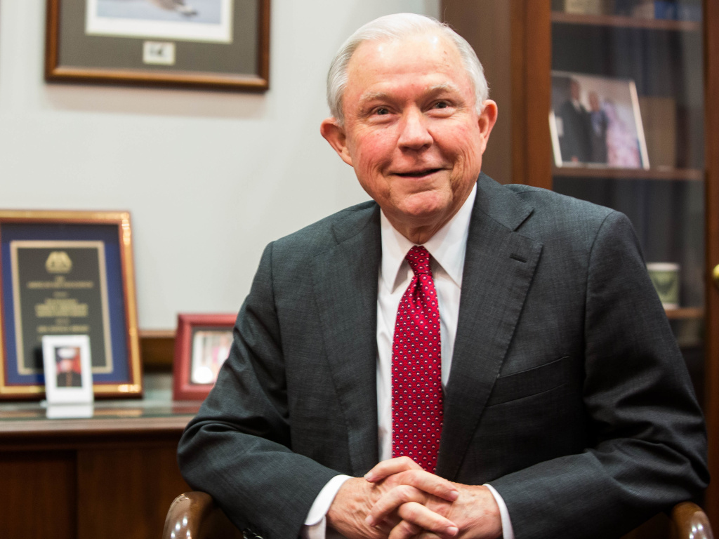 Sen. Jeff Sessions, Donald Trump's nominee for attorney general, will go before the Senate Judiciary Committee on Tuesday.