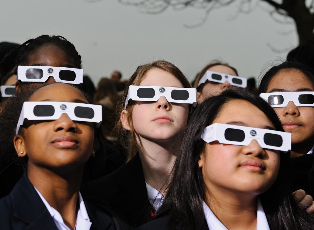 Proper eye protection is a must for anyone looking up at a solar eclipse.